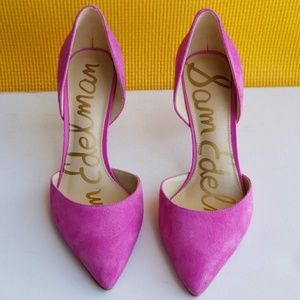 Sam Edelman Telsa Hot Pink Pump